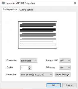 If the content created from a Microsoft Office program is printed as cut off in the middle